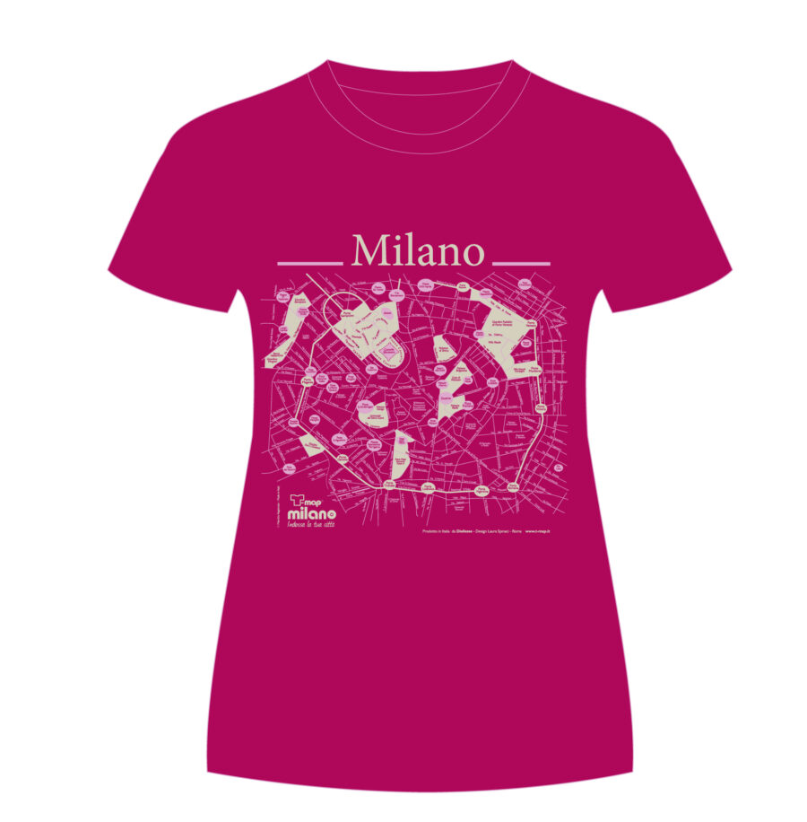 Milano T-shirt T-map