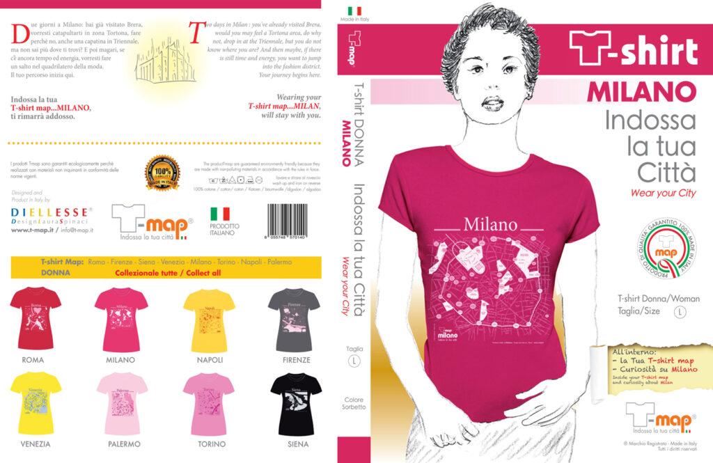 Milano T-shirt packaging