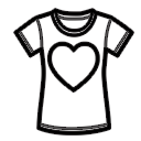 T-shirt Donna Cuore