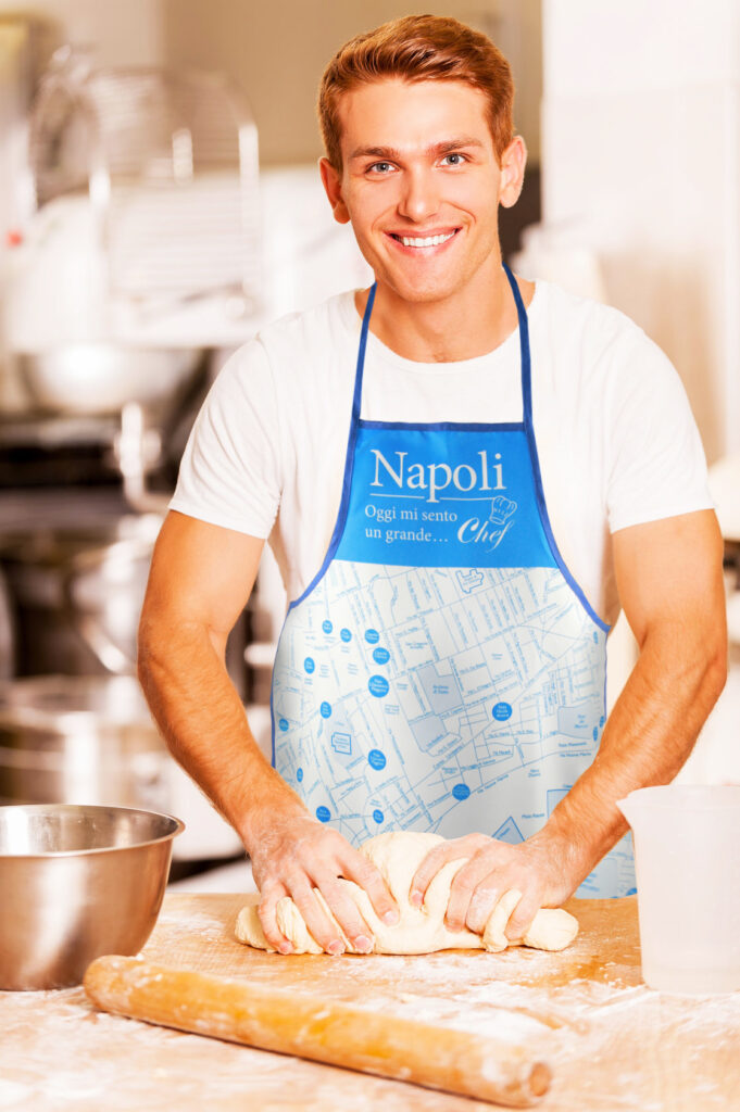 Grembiule cucina Napoli - Uomo