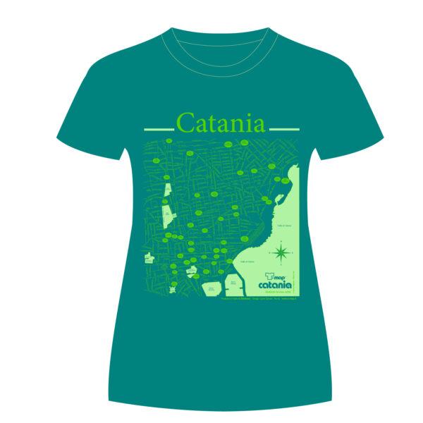 Catania T-shirt T-map