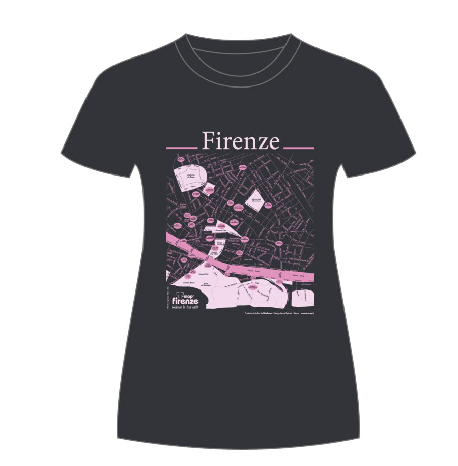 Firenze T-shirt T-map