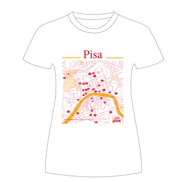 Pisa T-shirt T-map
