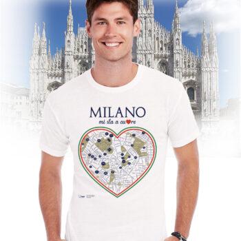 T-shirt milano cuore
