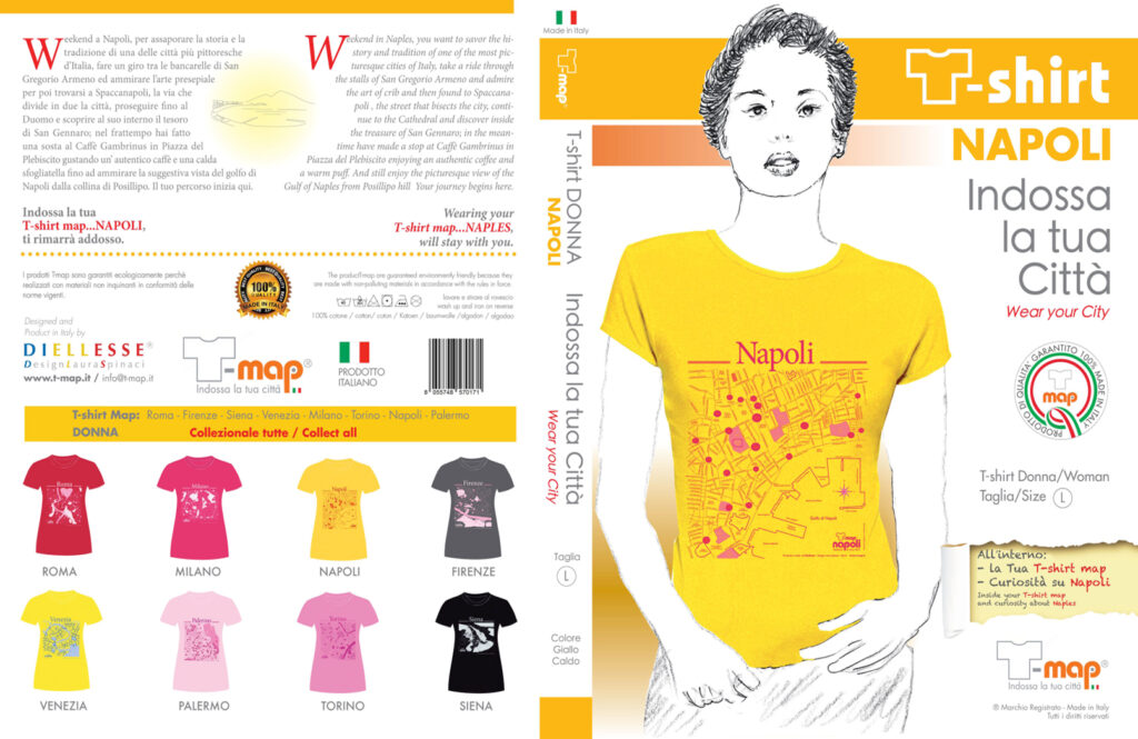 Napoli T-map Packaging