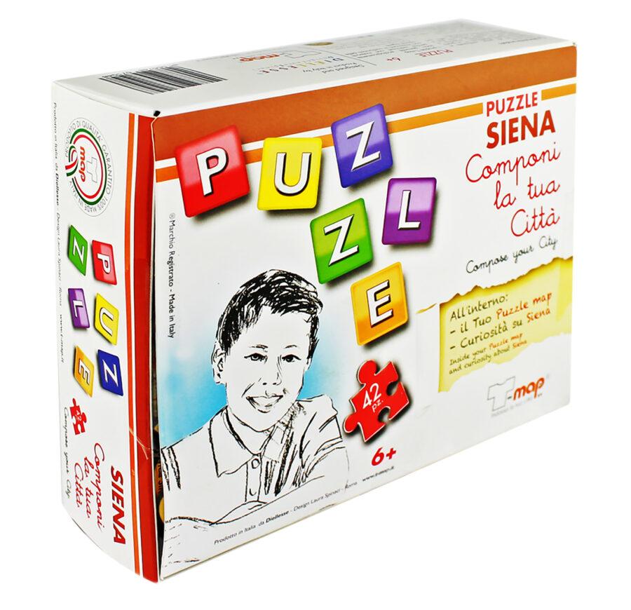 Puzzle T-map Siena