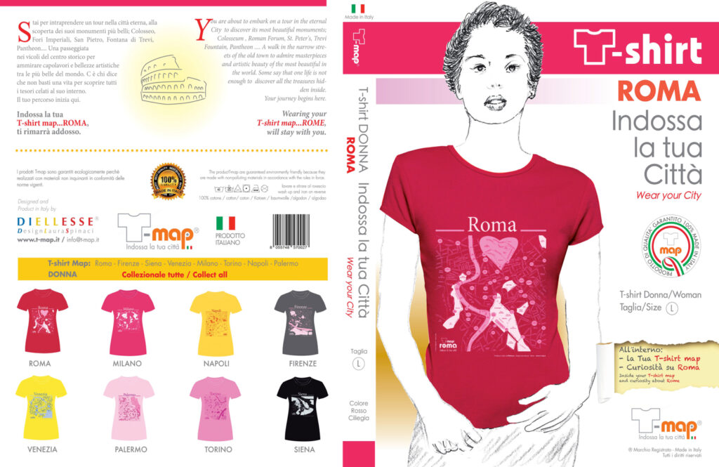 Roma T-map Packaging