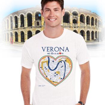 T-shirt verona cuore