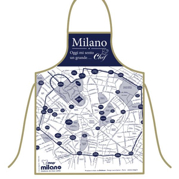 Grembiule T-map Milano