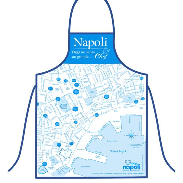 Grembiule T-map Napoli