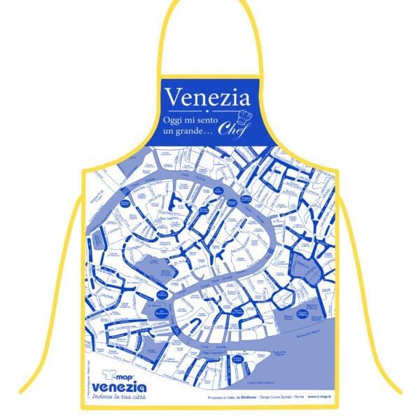 Grembiule T-map Venezia