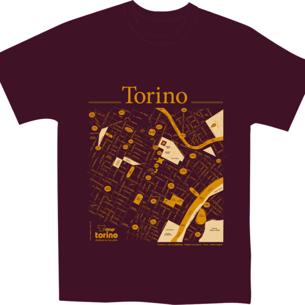 Torino T-shirt T-map