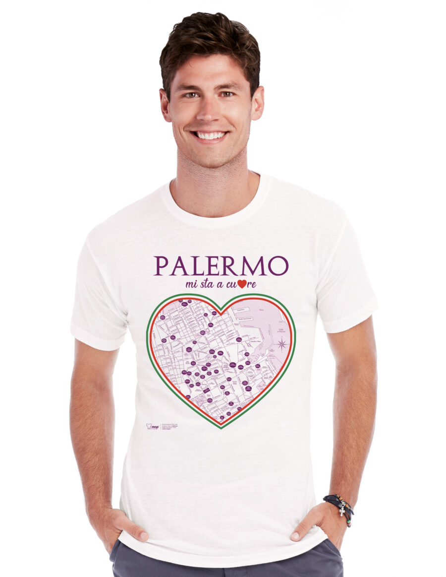T-shirt Palermo cuore