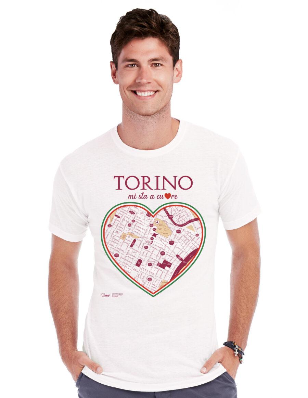T-shirt torino cuore