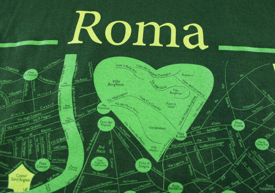 Roma T-shirt T-map