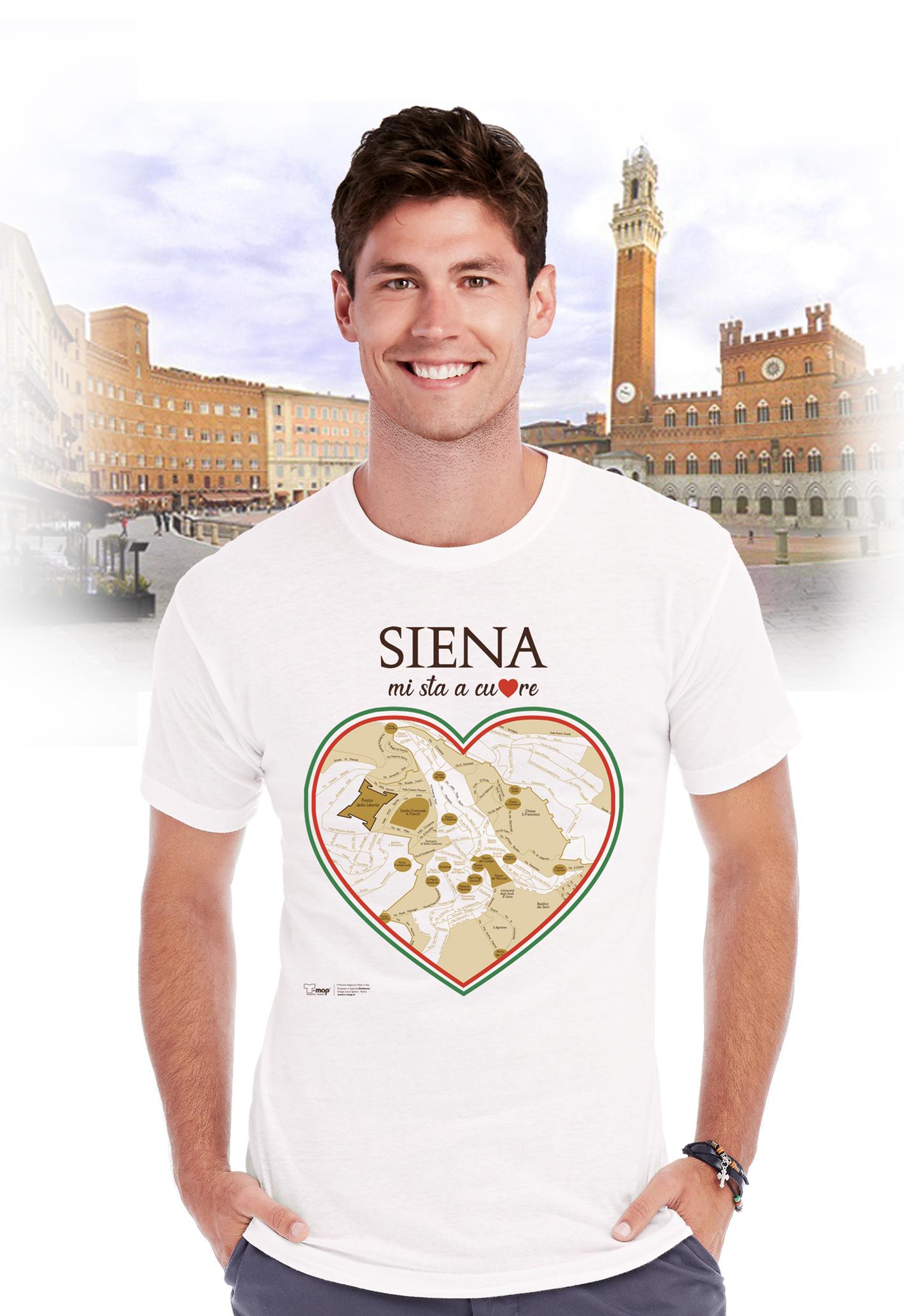 T-shirt siena cuore